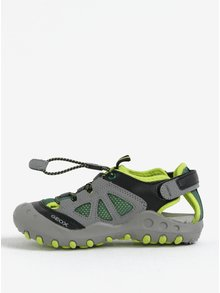 Zelené chlapčenské sandále Geox