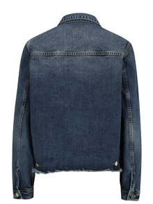 Jacheta din denim cu aspect uzat si prespalat -  SH Rodeio