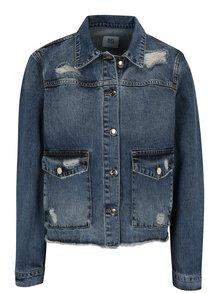 Modrá džínová bunda s potrhaným efektem SH Rodeio