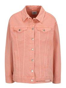 Růžová džínová bunda SH Refente