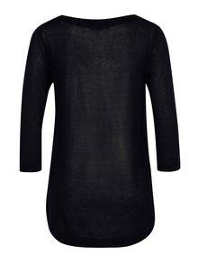 Bluza bleumarin semitransparenta - Yest