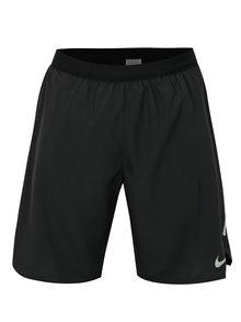 Čierne pánske funkčné standart fit kraťasy Nike Distance