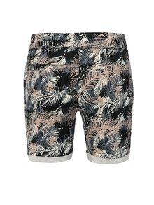 Pantaloni scurti multicolori cu print tropical Haily´s Sabina