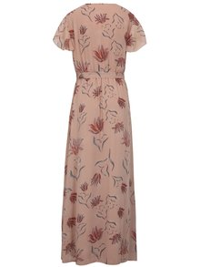 Rochie petrecuta cu print floral si cordon VILA Saffa