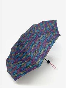 Tmavě modrý deštník s taškou 2v1 Esprit Dots & Dots