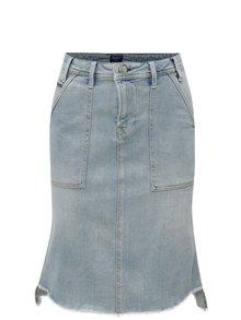 Svetlomodrá rifľová sukňa Pepe Jeans Penny