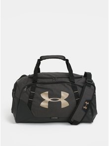 Tmavě šedá voděodolná sportovní taška Under Armour