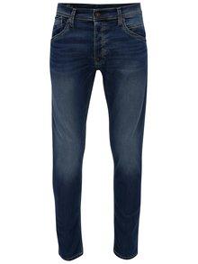 Blugi regular albastri cu aspect prespalat pentru barbati - Pepe Jeans Track