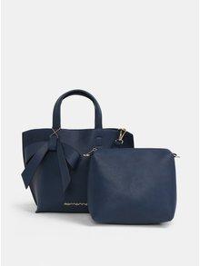 Tmavě modrá crossbody kabelka s pouzdrem 2v1 Fornarina Bella