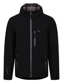 Čierna pánska softshellová bunda LOAP Lenc