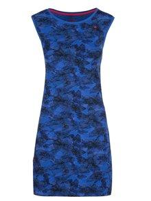 Čierno-modré kvetované šaty LOAP Brea
