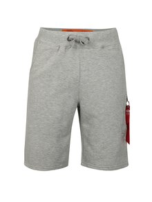 Pantaloni barbatesti scurti sport gri ALPHA INDUSTRIES