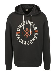 Hanorac gri inchis Jack & Jones Art
