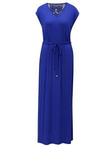 Rochie maxi albastra cu dantela in spate Dorothy Perkins
