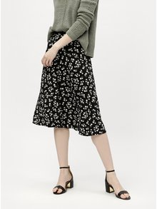 Čierna sukňa s elastickým pásom M&Co