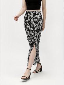 Bielo-čierna vzorovaná maxi sukňa M&Co