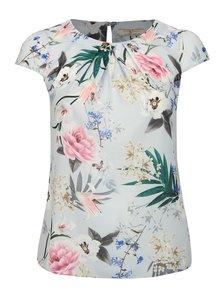 Růžovo-šedá květovaná halenka Billie & Blossom by Dorothy Perkins