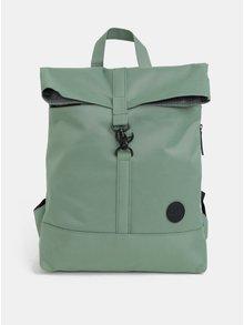 Zelený batoh s karabínou Enter City Fold 16 l