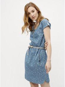 Rochie de dama albastra cu model Ragwear Geena