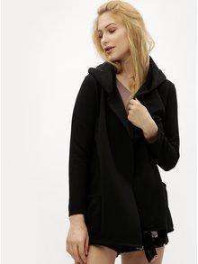 Černý žebrovaný kardigan Haily´s Cindy