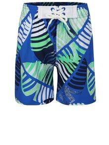 Zeleno–modré chlapčenské vzorované plavky Reima Biitzi