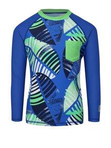 Modré chlapčenské plavkové tričko s dlhým rukávom Reima Bay