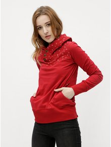 Červené dámske tričko s dlhým rukávom Ragwear Lucie