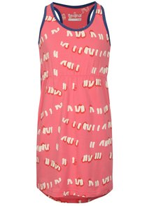 Růžové šaty s potiskem Reima Sointu