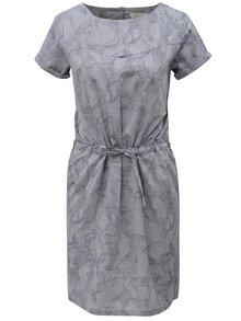 Modro-šedé vzorované šaty Skunkfunk