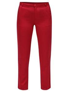Červené chino nohavice Skunkfunk