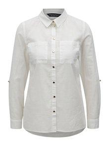 Biela košeľa Dorothy Perkins