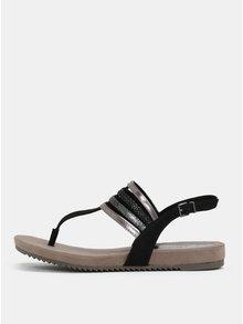 Sandale maro-negre Tamaris