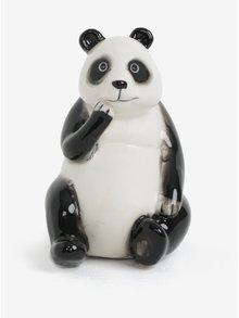 Čierno-biela pokladnička v tvare pandy SIFCON