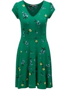 Zelené kvetované šaty Dorothy Perkins Petite