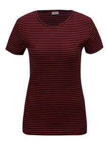 Modro-červené pruhované tričko Jacqueline de Yong Christine