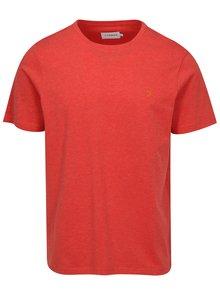 Červené melírované tričko Farah Denny