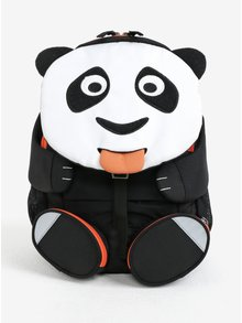 Černo-bílý batoh ve tvaru pandy Affenzahn 8 l