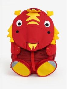 Červený batoh v tvare draka Affenzahn 8 l