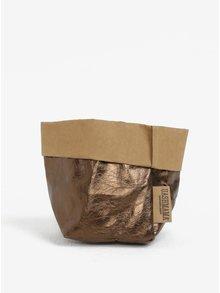 Papierové puzdro v bronzovej farbe UASHMAMA®