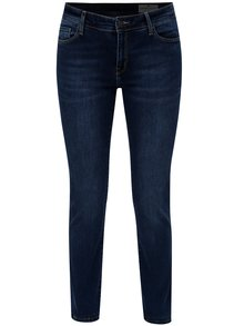 Blugi de dama albastri din denim - Cross Jeans Anya