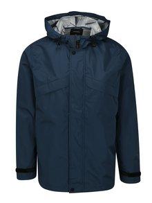 Tmavě modrá bunda s kapucí Burton Menswear London