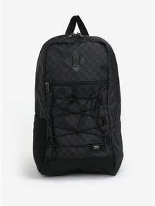 Tmavosivý pánsky batoh s jemným vzorom VANS Snag 18 l