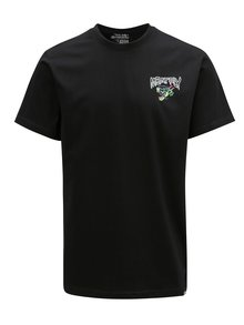 Tricou negru cu print pentru barbati MEATFLY Dragon