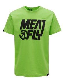 Tricou verde pentru barbati MEATFLY Shaper