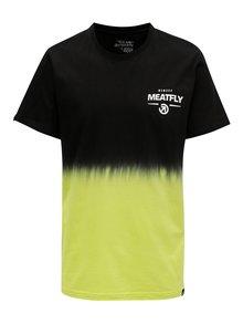 Černo-žluté pánské tričko MEATFLY Spill