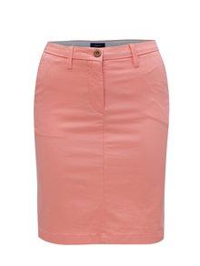 Ružová sukňa s vreckami GANT