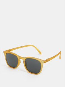 Žlté unisex slnečné okuliare IZIPIZI #E