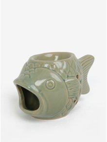 Zelená aromalampa v tvare ryby SIFCON