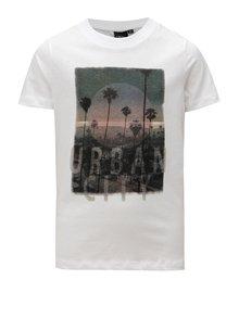 Biele chlapčenské tričko s potlačou LIMITED by name it Oblik