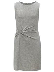 Sivé dievčenské šaty s uzlom LIMITED by name it Norma